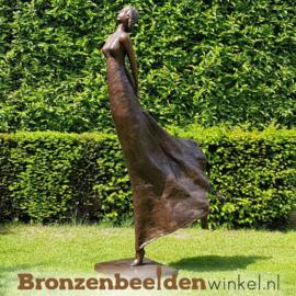 """Vrouwen tuinbeeld """"De zwierige vrouw"""" BBW47336"""