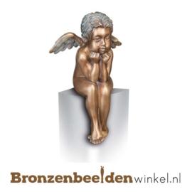 Bronzen engelen beeldje BBW85417