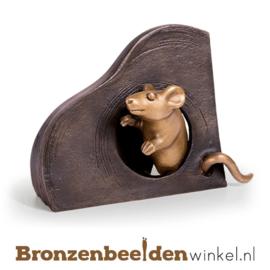 Beeld muis als wanddecoratie BBW37228