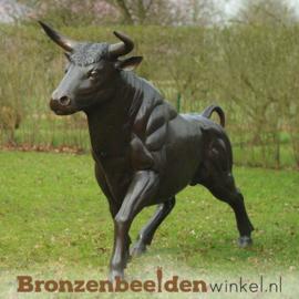 Groot bronzen stieren beeld BBW96009