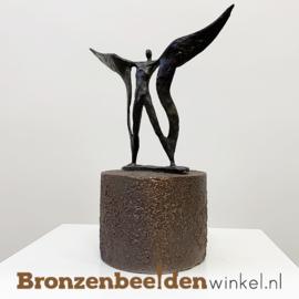 """Asbeeldje """"Gedragen op vleugels"""" BBW006br73"""