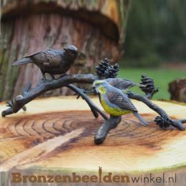 Bronzen vogels op tak BBW0751br