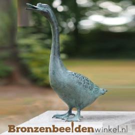 Bronzen gans beeld BBW5425br