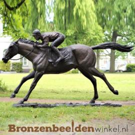 Jockey op renpaard BBW47198