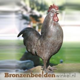 Bronzen beeld haan BBW87091