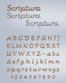 Losse letters Scriptura