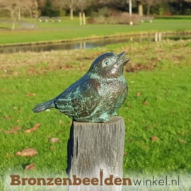 Vogel beeldje in brons BBW1319