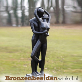 "Tuinbeeld ""Kussend Paar"" BBW1037"