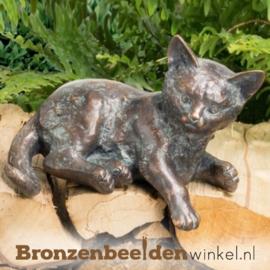 Bronzen kat BBW37255