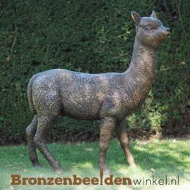 Beeld alcapa in brons BBW1384
