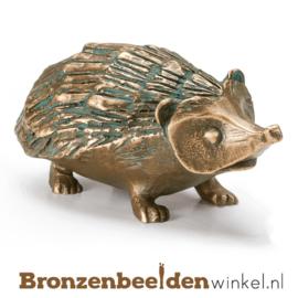 Bronzen egel beeld BBW37281