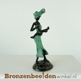 "Afrikaans beeld ""Miyanda en Yaro"" 16 cm BBW009br69"