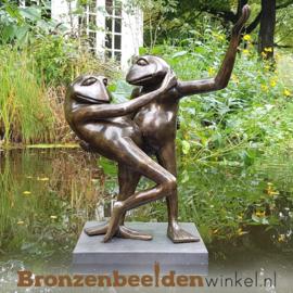 Vijver beeld Swingende Kikkers BBW0359br