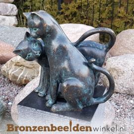 NR 9 | Cadeau voor iemand die alles al heeft ''Bronzen katten'' BBW2350br
