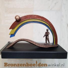 """Abstract beeld """"De Regenboog"""" BBW85384"""