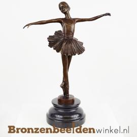 Ballerina beeldje brons BBWVG80