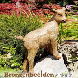 Beeld geitje van brons BBWR88854