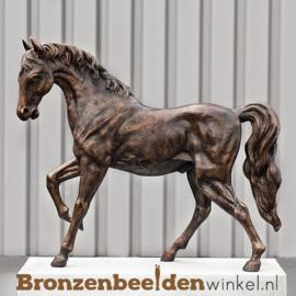 Beeld paard in brons BBW1006