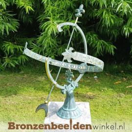 NR 1 | Huwelijkscadeau ouders ''Bronzen zonnewijzer'' BBW0221br