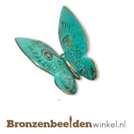 Bronzen vlinder beeldje BBW20595