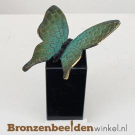 Vlinder beeldje op sokkel BBW1825os