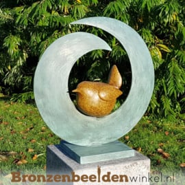 "Abstract tuinbeeld ""Vogel"" BBW2673br"