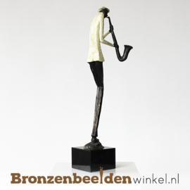 "Muziekbeeldje ""De Saxofonist"" BBW004br00"