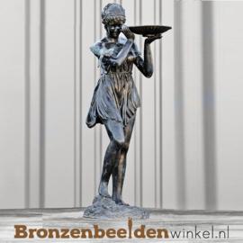 Bronzen fontein Vrouw met Schelp BBW8011
