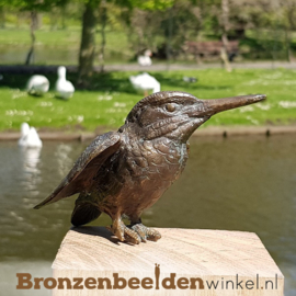IJsvogel beeldje brons BBW88367