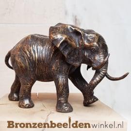 Bronzen olifanten