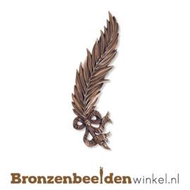 Bronzen palmtak met strik BBW05470-019