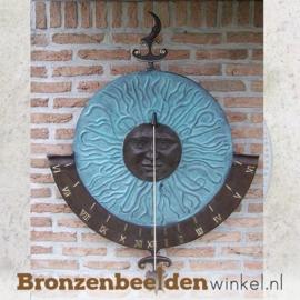 """Wanddecoratie """"Zonnewijzer"""" BBW0728br"""