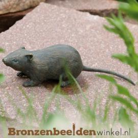 Bronzen veldmuis beeld BBWR88249