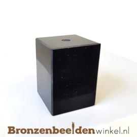 3x Marmeren sokkel 7x5,5x5,5 cm