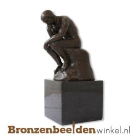 """Zakelijk bedankje """"Denker van Rodin"""" BBW001br54"""