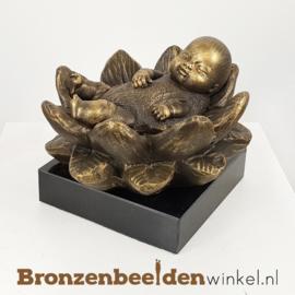 """Geboorte cadeau """"Lotus baby"""" BBW010br05"""