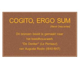 Bronzen plaquette 15x25 cm