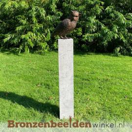 NR 7 | Cadeau man 75 jaar ''Bronzen uil'' BBW2213