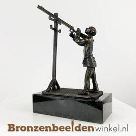 "Beeldje ""De schutterskoning"" BBW002br03"