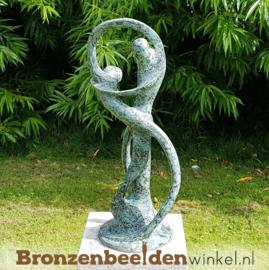 """Liefdespaar tuinbeeld """"De Oneindige Dans"""" BBW52214br"""
