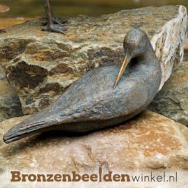 Beeld watersnip van brons BBW75680