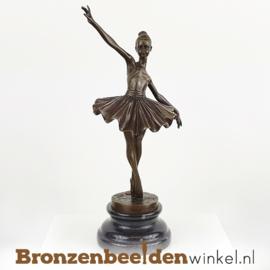 Ballerina beeldje brons BBWFA87