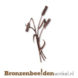 Geknakte korenaar van brons BBW32130-022