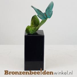 Vlinder beeldjes op sokkel BBW20365