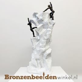 """Sculptuur """"Juiste keuzes (WIT)"""" BBW005br13"""