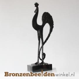 """Bronzen haan """"De sierlijke haan"""" BBW004br77"""