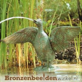 Spuitfiguur eend met gespreide vleugels BBWR88212