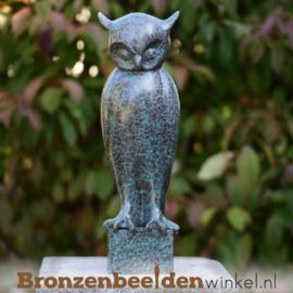 Bronzen uil beeld BBW2562br