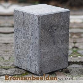 Hardsteen sokkel 15x10x10 cm