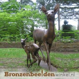 Exclusief bronzen hert BBW80080